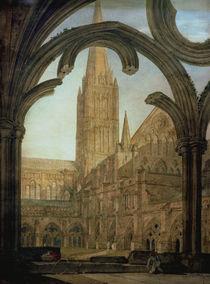 W.Turner, Kreuzgang u. Salisbury Cath. by AKG  Images