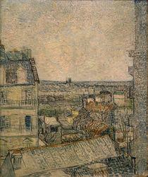 V.v.Gogh, Blick aus dem Fenster, Paris by AKG  Images