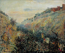 Camille Pissarro, Boulevard Montmartre by AKG  Images