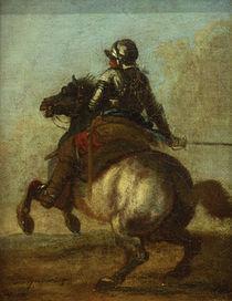 C.Spitzweg, Reiterbildnis von AKG  Images