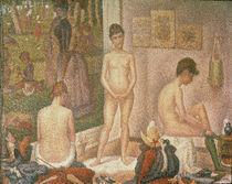 G.Seurat, Die Modelle (Kleine Fassung by AKG  Images