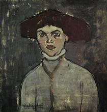 A.Modigliani, Bildnis einer jungen Frau von AKG  Images
