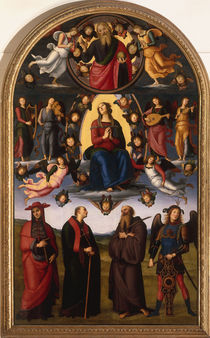 Perugino, Himmelfahrt Mariae von AKG  Images