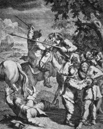 Cervantes, Don Quijote / Hogarth von AKG  Images