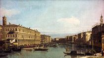 Venedig, Canal Grande / Canaletto von AKG  Images