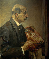 M.Liebermann, Selbstbildnis mit Palette by AKG  Images