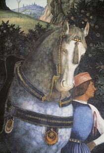 A.Mantegna, Diener mit Pferd by AKG  Images