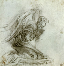 G.L.Bernini, Kniender Engel by AKG  Images
