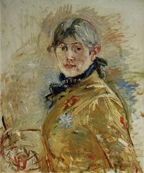 Berthe Morisot, Selbstportraet / 1885 by AKG  Images