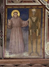 Giotto, Franziskus und der Tod by AKG  Images