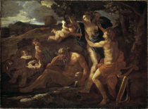 Nic. Poussin, Apollo und Daphne by AKG  Images
