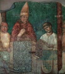 Papst Bonifatius VIII. / Giotto by AKG  Images