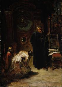 Carl Spitzweg, Die Beichte / um 1875 by AKG  Images