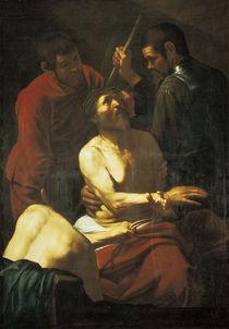 Caravaggio, Dornenkroenung Christi by AKG  Images