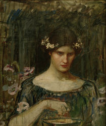 J.W.Waterhouse, Medea / Gemaelde, 1906-7 by AKG  Images