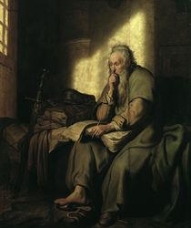 Rembrandt, Paulus im Gefaengnis von AKG  Images