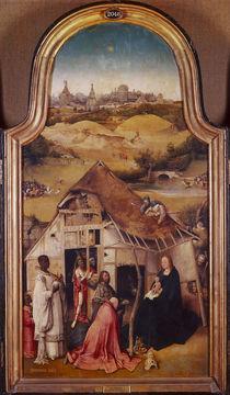 Hieronymus Bosch, Anbetung der Koenige von AKG  Images