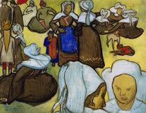 V.Gogh n.Bernard, Bretonische Frauen... von AKG  Images