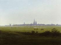 C.D.Friedrich, Wiesen bei Greifswald1815 by AKG  Images