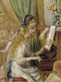 A.Renoir, Zwei Maedchen am Klavier von AKG  Images