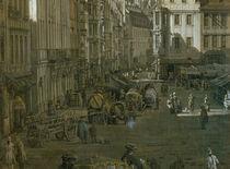 Dresden, Altmarkt / Bellotto by AKG  Images
