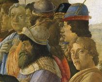 Botticelli, Anbetung Koenige, Ausschn. von AKG  Images