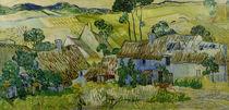 V.van Gogh, Bauernhoefe bei Auvers von AKG  Images