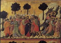 Duccio, Christi Gefangennahme by AKG  Images