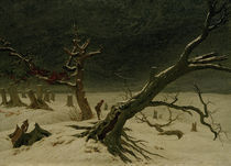 C.D.Friedrich, Winterlandschaft von AKG  Images