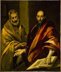 El Greco, Petrus und Paulus von AKG  Images