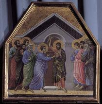Duccio, Unglaeubiger Thomas von AKG  Images