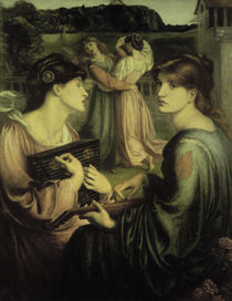 Dante G. Rossetti, Bower Meadow von AKG  Images