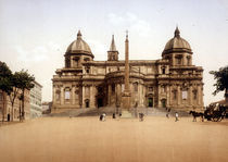 Rom, S.Maria Maggiore, Photochrom by AKG  Images