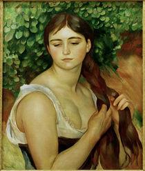 Suzanne Valadon / Gemaelde von Renoir von AKG  Images