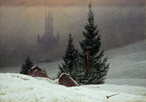 C.D.Friedrich, Winterlandschaft by AKG  Images