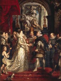 P.P.Rubens,Vermaehlung der Maria Medici von AKG  Images