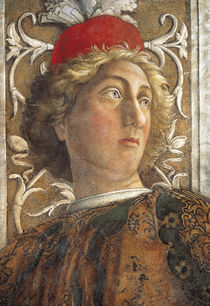 A.Mantegna, Camera d.Sposi, Hoefling von AKG  Images