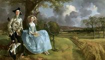 Gainsborough/R.Andrews & Frau/um 1749 von AKG  Images