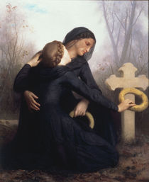 W.A.Bouguereau, Totensonntag by AKG  Images