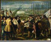 Uebergabe von Breda 1625 / Gem.v.Velazqu. von AKG  Images