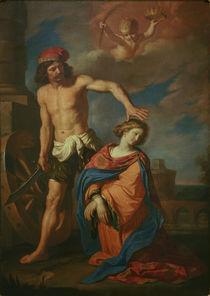 Guercino, Martyrium der hl. Katharina by AKG  Images