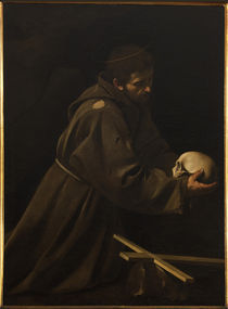 Caravaggio, Franz von Assisi by AKG  Images