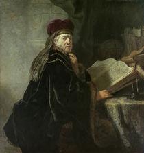 Rembrandt, Gelehrter im Studierzimmer by AKG  Images