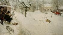 C.Larsson, Der Freilichtmaler by AKG  Images