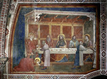 Giotto, Christus im Haus des Pharisaeers by AKG  Images