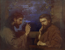 H.Thoma, Christus und Nikodemus von AKG  Images