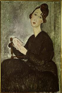 A.Modigliani, Dedie (Odette Hayden) von AKG  Images