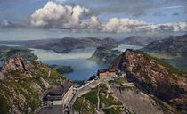 Pilatus Kulm / Photochrom by AKG  Images