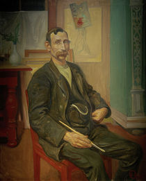 C.Larsson, Der Maler Carl Oscar Persson by AKG  Images
