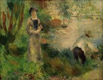 A.Renoir, Auf der Ile de Chatou by AKG  Images